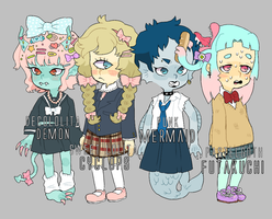 Fashion Monster: Monster Girl Adopts by motherfuckingkawaii