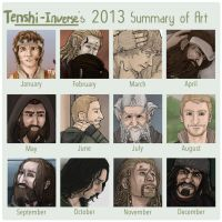 2013 Summary of Art by Tenshi-Inverse