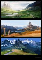 castles by Merryminder
