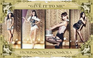 Sistar:Give it to Me by Jover-Design