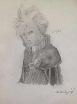 Cloud Strife (V2) - Cloudie! by Mismagiusite1