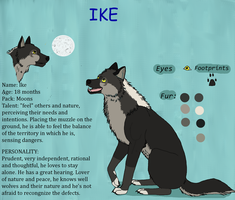 Ike- character sheet by runningfreely