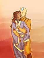 the avatar and his love by Zethia