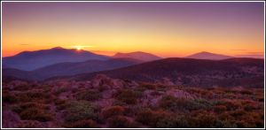 Last Rays Over Cuyamaca Peak by JoeBostonPhotography