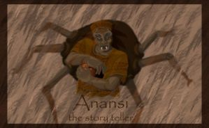Anansi the Spider by ChowFanGirl12