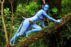 neytiri cosplay tree by AmyFantasea