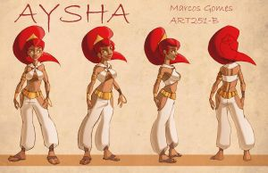 Aysha - Turn Around by m-gomes