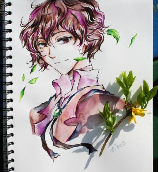 Dazai by polar1303