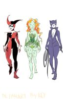 Gotham Girls by haymakers
