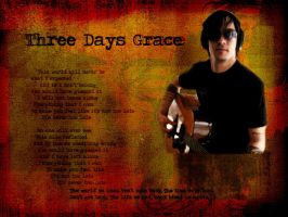 Adam Gontier by bluegrace