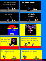 Sonic and Chaos version almost by sonicnews