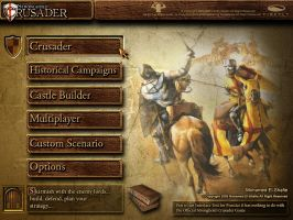 Stronghold Crusader Interface by Poser96