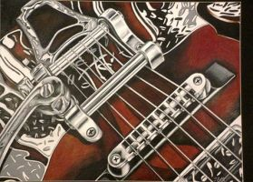 Stratocaster by prismacolorjessie