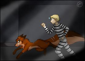 Prisoners on the run by Marcella-Youko