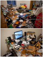 my room at its prime.... by shiroin