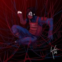 Manga Spiderman by bloodcult