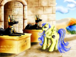 Egyptian Pony by FlyingPony
