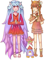 CE: Beira and Blossom by Dorinootje