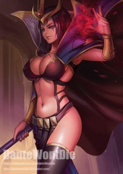 LeBlanc, by DanteWontDie by Antsstyle