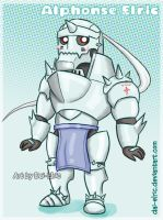 Alphonse Elric chibi by Dai-Elric