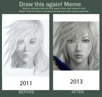 Redraw meme Lightning by 8Bpencil