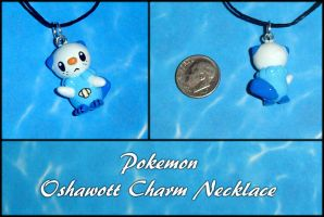 Pokemon - Oshawott Necklace by YellerCrakka