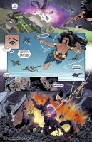 Wonder Woman - In The Name Of The Mother #18 by EliseuGouveia