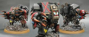 Blood Angels Death Company Dreadnought by Budsky