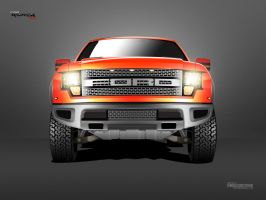 Vector Ford F-150 Raptor SVT by zaib