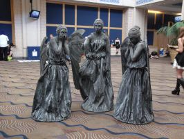 Weeping Angels MetroCon 2012 by cherryblossom112396