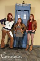 Doctor Who Photoshoot: Ginger Squad by StrangeStuffStudios