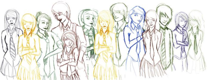 Pottermore draft one by jellitot