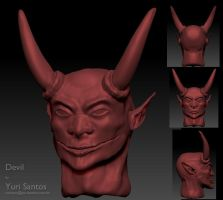 Devil WIP2 by Kratos-YMVS