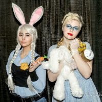 Judy and Alice Cosplay by IsabellaCUDA
