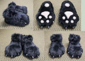 Ninjahobbit09 Feetpaws by FehFeh13