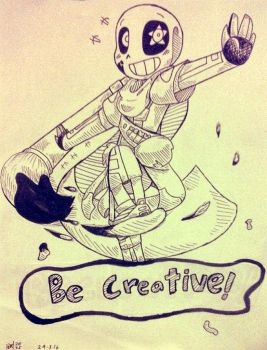 | be creative! | by UnderMised