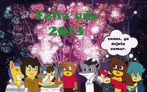 Feliz 2013 by CFT-Smash