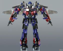 OPTIMUS PRIME by Goreface13