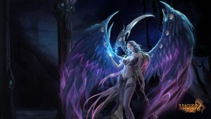 League of Angels - Alecta 1920x1080 by meowww1118