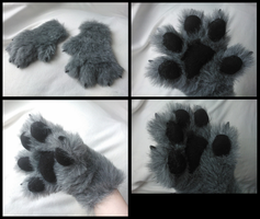 Gerard Wolf Handpaws by CuriousCreatures