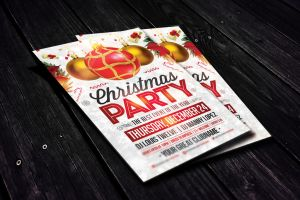 Christmas Party | Flyer Template by LouisTwelve-Design