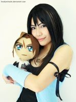 Trial Rinoa + Squall Plushie by lonelymiracle