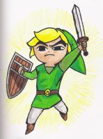 Windwaker Link by thereisnoend01