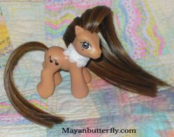Birthday Girl Custom My Little Pony by mayanbutterfly
