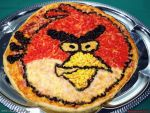 Angry Bird Pizza by PaSt1978