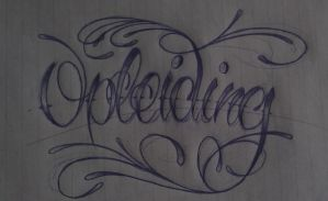 lettering doodle by GeertY