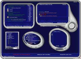 Solaris Blue for Trillian pro by syphen