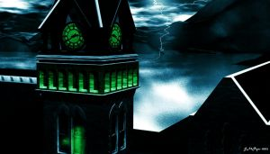 Ghost In The Clock Tower by drumthrasher4hr