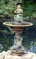 Stock - fountain by rockgem
