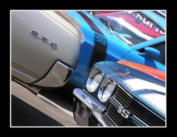 Muscle car parking only... by Boss429